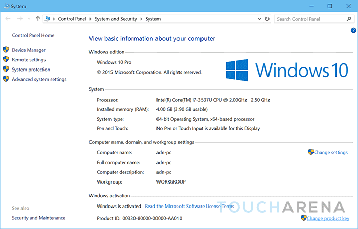How to change update windows 10 product key for New windows products