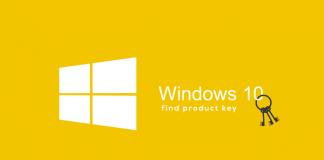 find windows 10 key