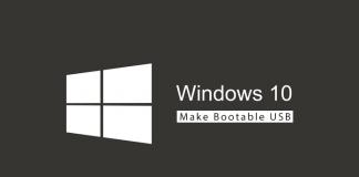 make win10 bootable usb