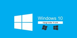 upgrade windows 7 8.1 to Windows 10