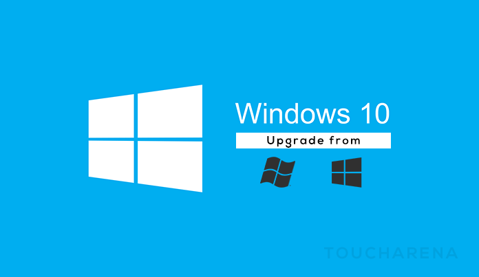 upgrade windows 7 8.1 to Windows 10