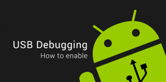 enable usb debugging android