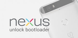 unlock bootloader nexus