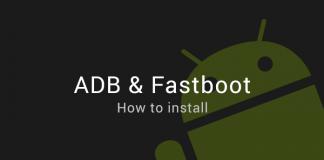 install fastboot adb